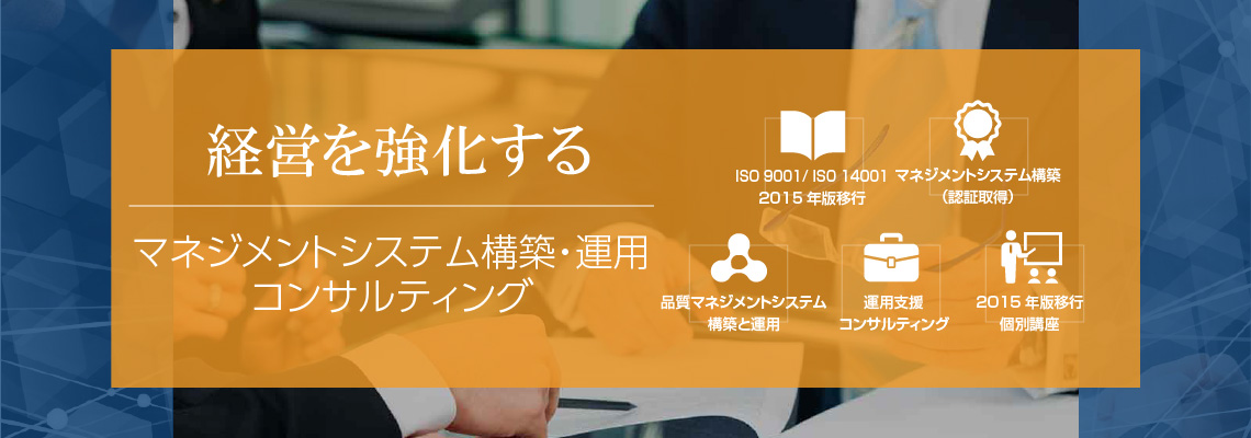 ISO 9001 コンサルタント