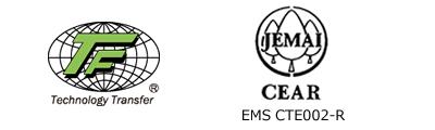 CEAR承認/JRCA承認